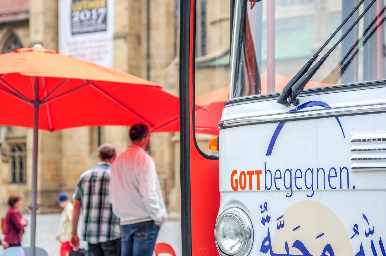 Mobiler Treffpunkt in Heilbronn Zentrum
