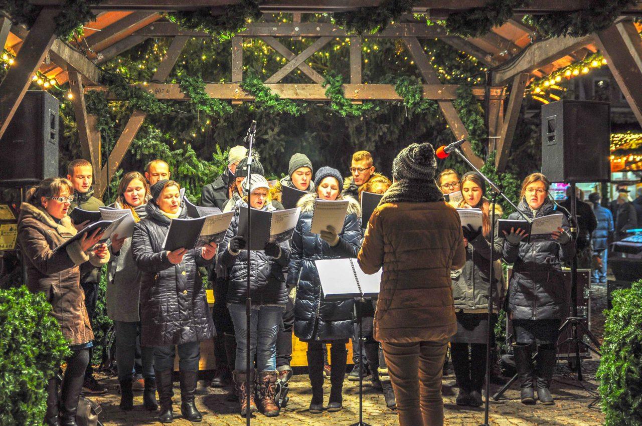 Adventsingen auf dem Heilbronner Weihnachtsmarkt 2017